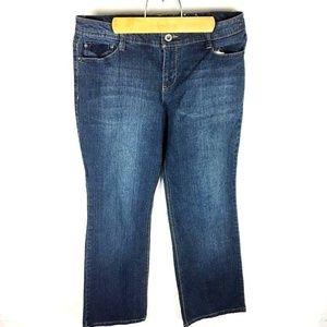 Sonoma (G2-09) Women's Sz 12 Blue Jeans